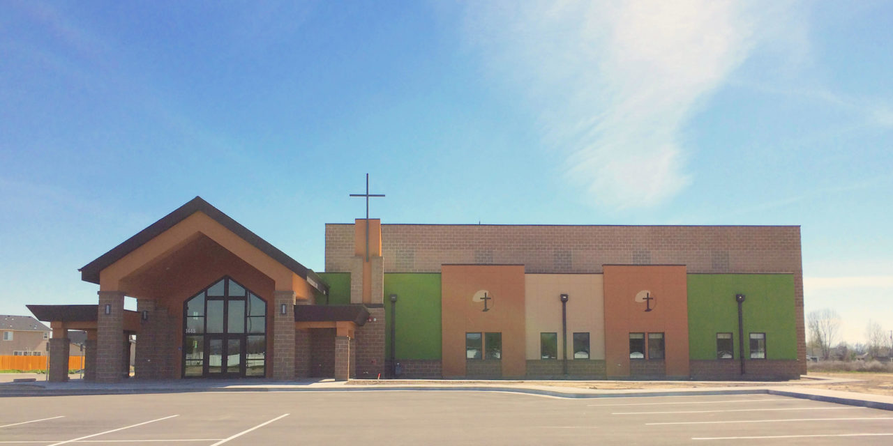 Idaho worship and community center | church architecture church design | Mountain West Architects