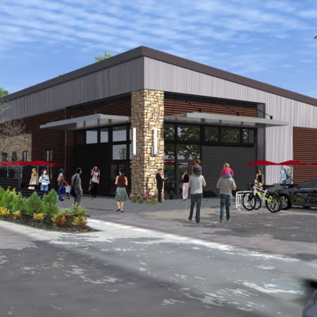 multi-use community center   commercial architecture church design   Mountain West Architects