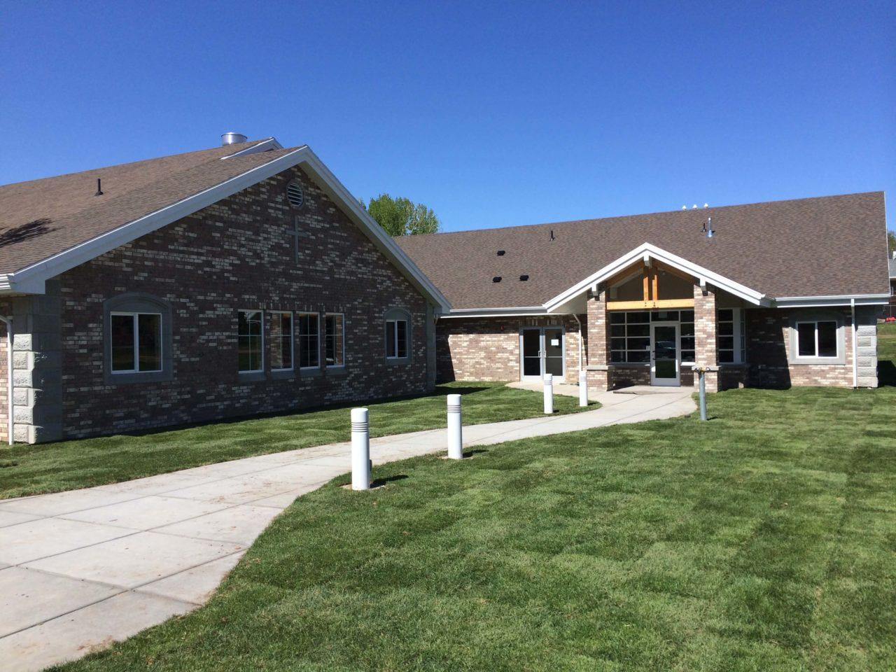 Church Office, Mountain View Baptist Church, Church Renovation, Mountain West Architects, Layton Church