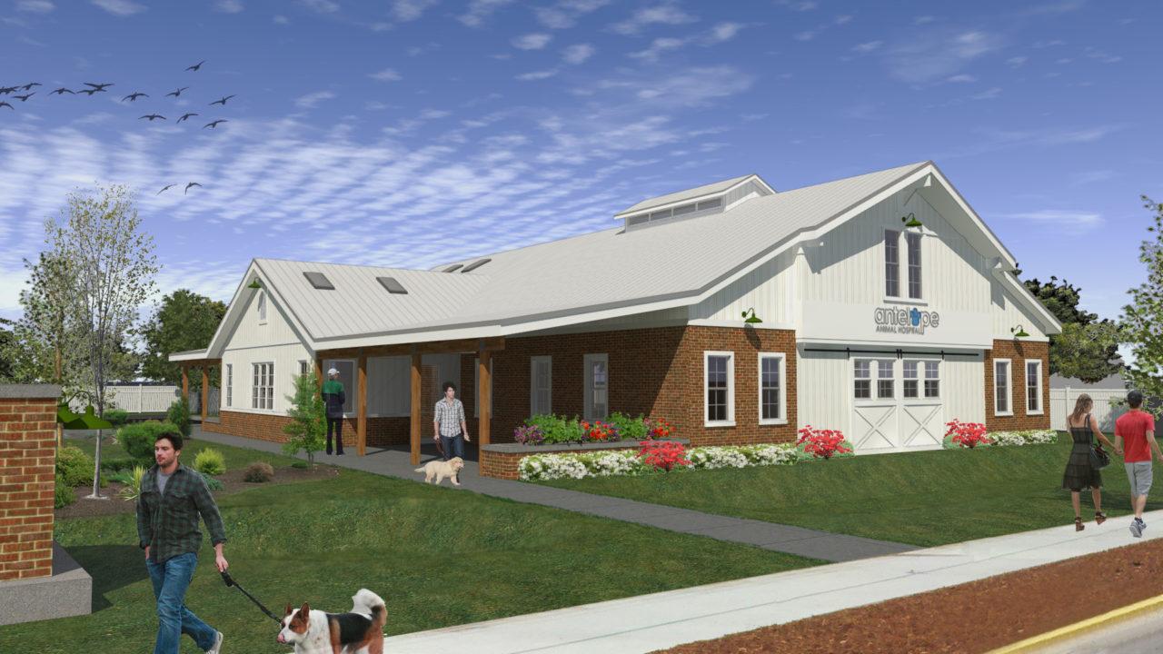 Mountain West Architects. Antelope Animal Hospital. Syracuse Utah. New Animal Clinic Hospital. Rural Barn Architecture. Syracuse Utah
