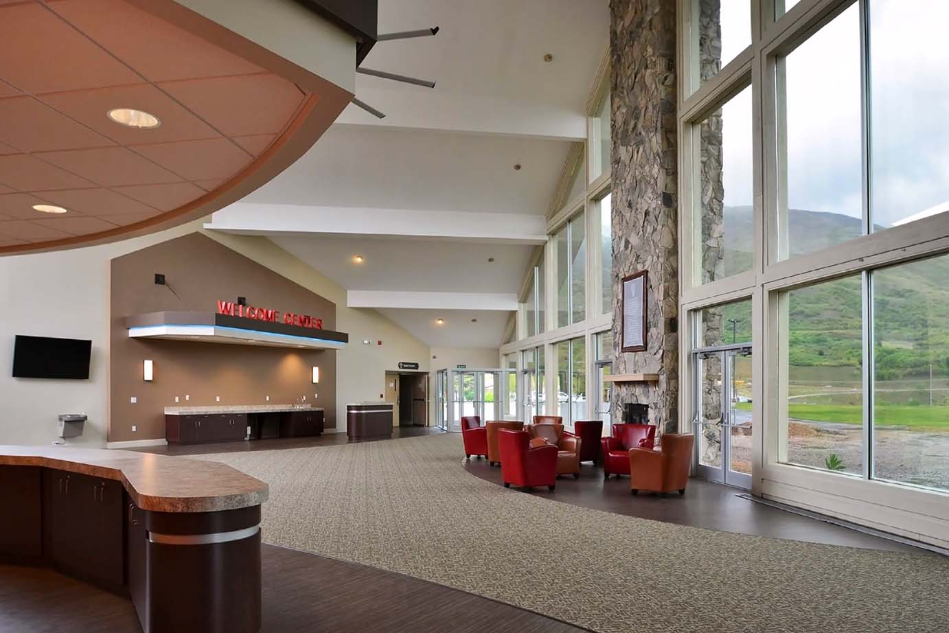 Picture of Mountain View Baptist Renovation. Copyright 2014, Mountain West Architecture.