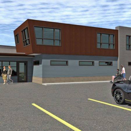 Mountain West Architecture construction started for Aloha Behavioral Consultants in Ogden, Utah