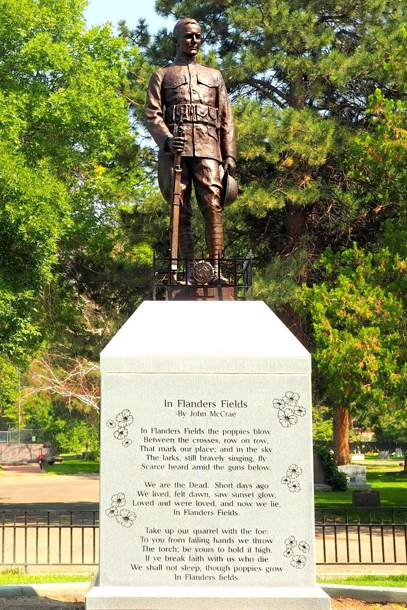 Ogden Doughboy Memorial 2018 - Mountain West Architecture